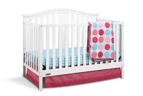 Kmart Crib Mattress Graco Graco Solano 4 In 1 Convertible Crib And Bonus Mattress White Baby Baby Furniture