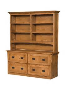Lateral File Cabinet With Shelves Four Drawer Arts And Crafts Lateral File Cabinet With Bookcase