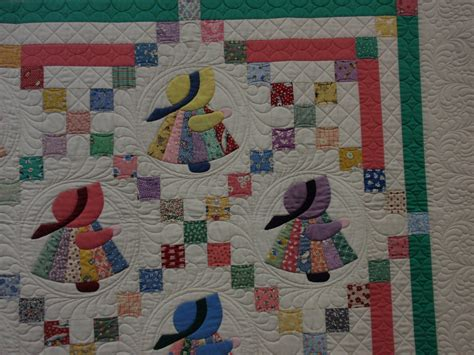 quilt pattern sunbonnet sue how would you quilt a sunbonnet sue quilting