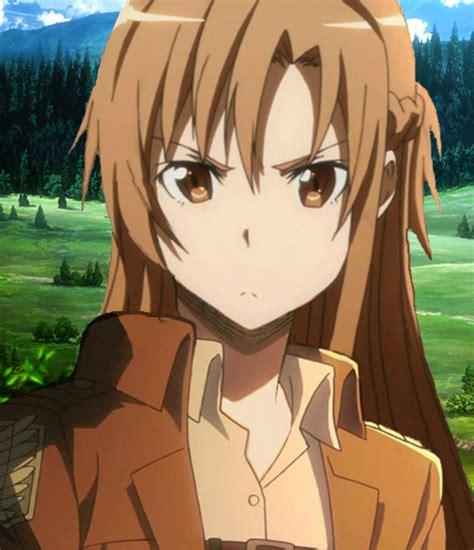 Ordinal Attack Of Titan 05 asuna on attack ontitan shingeki no kyojin by