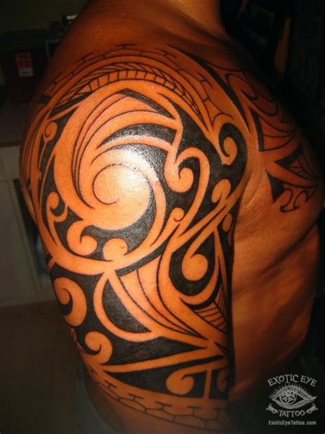 maui tribal tattoos polynesian tattoos eye