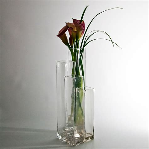 Discount Floral Vases by 8 Quot Square Glass Bud Vase Wholesale Flowers And Supplies