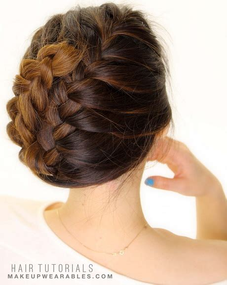 easy hairstyles for school updo hairstyles updos easy for school