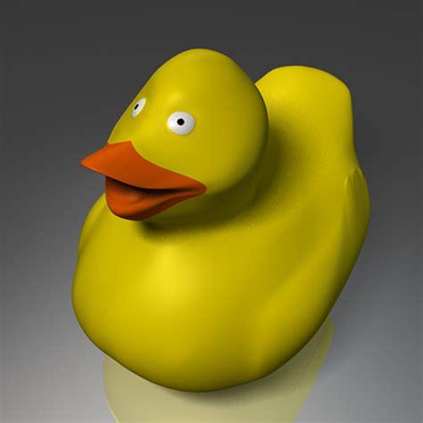 3d Rubber Duck 3d rubber duck model