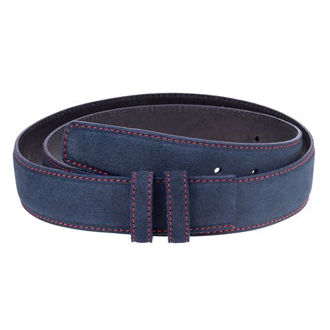 capo pelle leather belt mens belts buckles navy blue