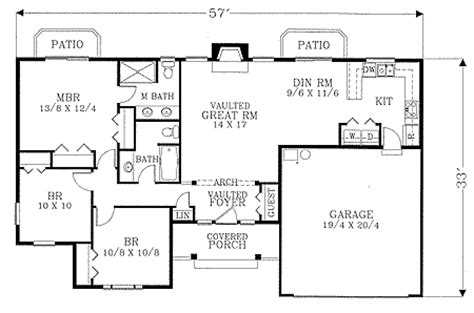 starter home floor plans starter home plan 2850j 1st floor master suite cad