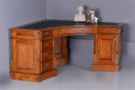 mahogany corner desk corner desk mahogany desk antique style leathern plate