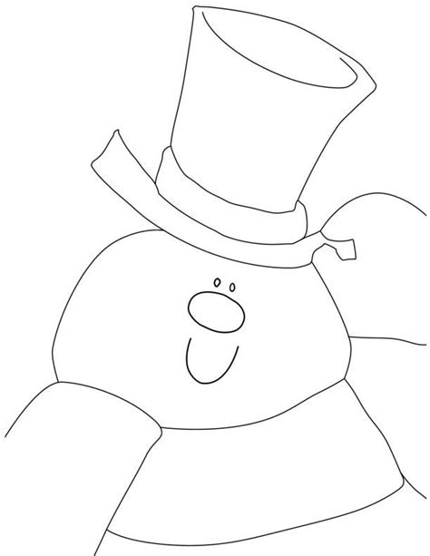 snowman coloring page pdf he snowman colouring pages coloring home