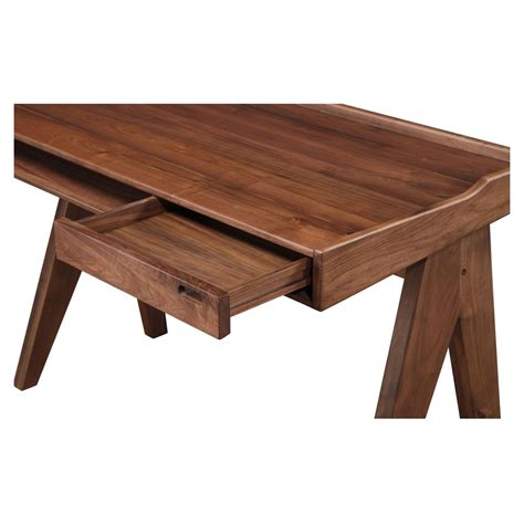 Moes From The Office by Daffy Office Desk 1 Drawer Walnut Dcg Stores