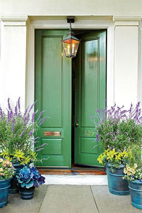 front door color 13 bold colors for your front door green front doors