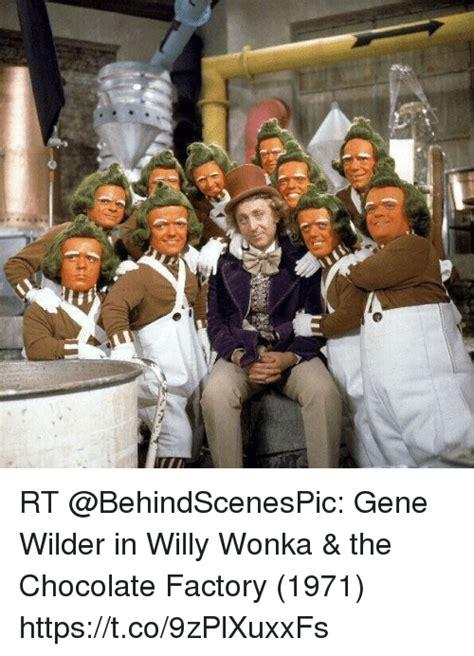 Gene Wilder Willy Wonka Meme - rt gene wilder in willy wonka the chocolate factory