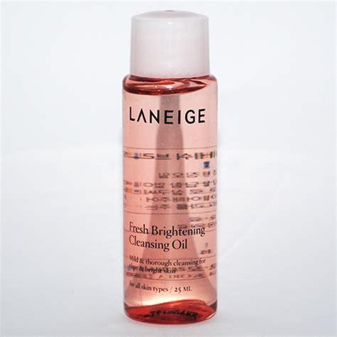 Laneige Fresh Brightening Cleansing 25ml Limited mini size 25ml dầu tẩy trang dưỡng s 225 ng da laneige fresh brightening thế giới skinfood
