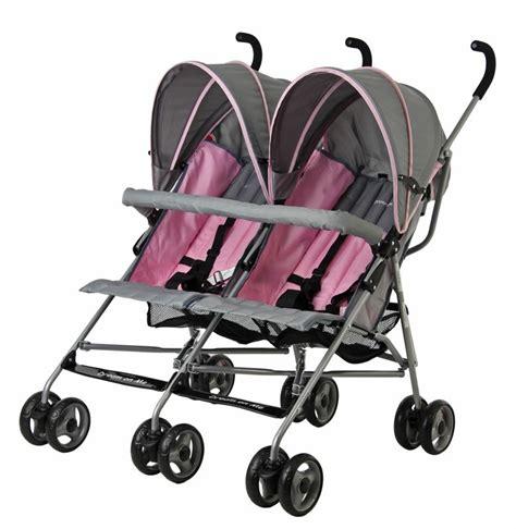 reclining double umbrella stroller dream on me twin umbrella stroller pink baby baby gear