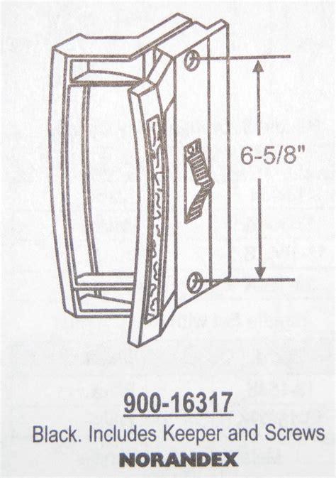 Patio Door Spare Parts Patio Door Handle Replacement Parts Acorn Patio Door Handle Set Keyed Lock 13 106kx Black Or