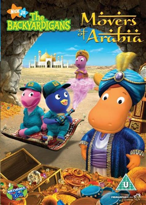 Backyardigans Cena Backyardigans Movers Of Arabia Za 6 97 Dvd