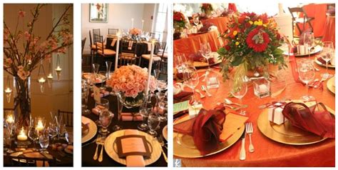 fall table decorations for wedding receptions fall table decorations for wedding reception the wedding