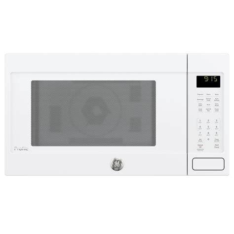 Ge Countertop Microwave Reviews by Shop Ge Profile Series 1 5 Cu Ft 1 000 Watt Countertop