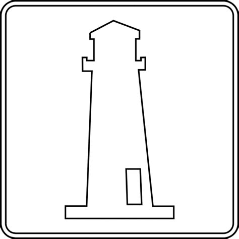lighthouse template craft lighthouse clip free clipart best