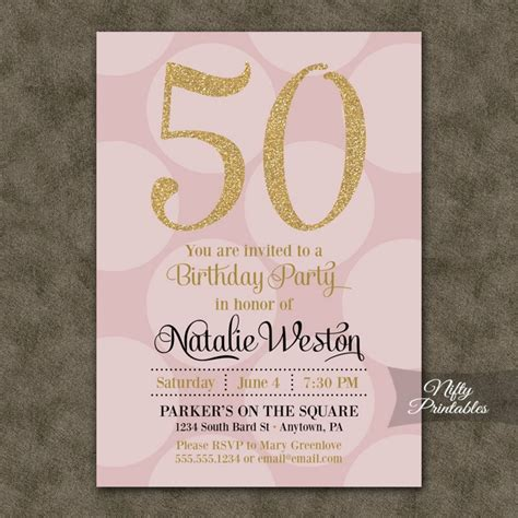 invitation sles for 50th birthday 50th birthday invitations for modern templates invitations templates