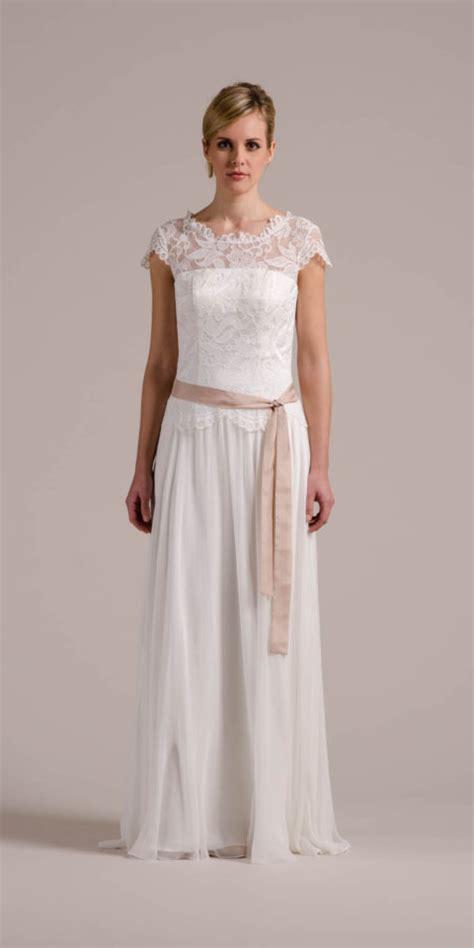 Vintage Hochzeitsschuhe by Vintage Hochzeitskleid Mit Fl 252 Gelarm Spitzencorsage Mehr
