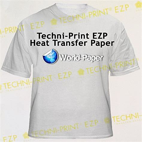 printable iron on transfers for laser printers laser iron on transfer paper techni print ezp 100 pack