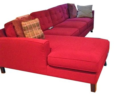 red leather sectional sofa red sofa park square red sofa sofas thesofa