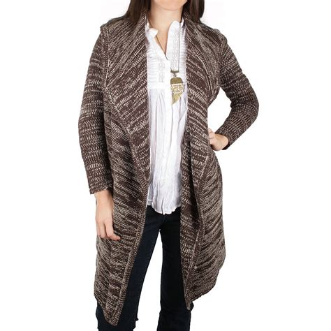 Hooded Open Front Cardigan ethyl hooded open front cardigan sweater for
