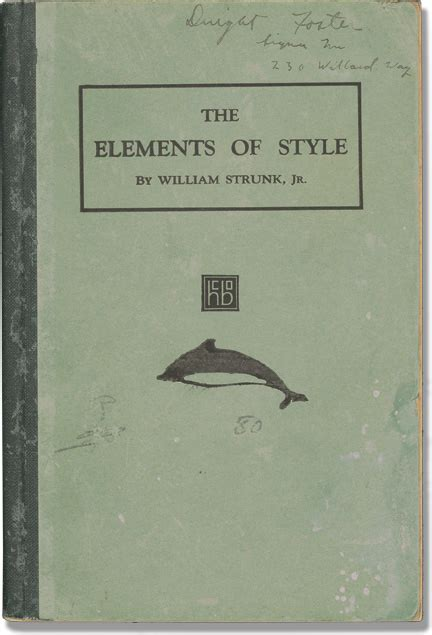 elements style by strunk first edition abebooks 50 essential books for college students online schools
