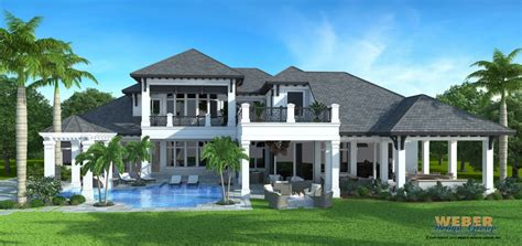 west indies style house plans golf dream home in talis park naples florida
