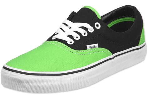 pictures of vans shoes for vans era shoes green black