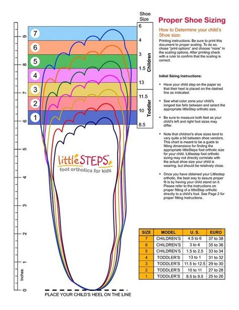 Printable Shoe Size Chart Activity Shelter Shoe Size Charts Pinterest Shoe Size Chart Shoe Measuring Template