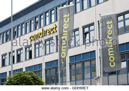 comdirect bank quickborn the logo comdirect bank ag can be seen at the location of