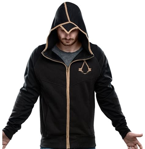 Sweater Hoodie Assasins Creed Jaspirow Shopping assassin s creed syndicate zipper hoodie bronze logo for only 163 52 65 at merchandisingplaza uk
