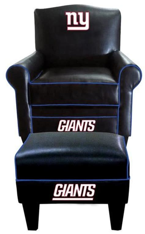 ny giants recliner new york giants chair and ottoman and new york on pinterest