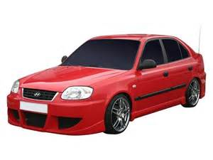 Hyundai Accent 2005 Kit Tuning Shop Magazin Tuning Piese Auto Si Accesorii