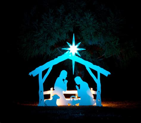 light up nativity scene outdoor nativity photo gallery mynativity com