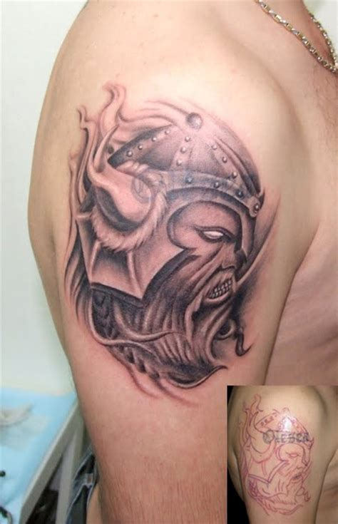 tatatatta shoulder viking tattoos