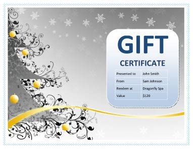 avery gift certificate template templates design and