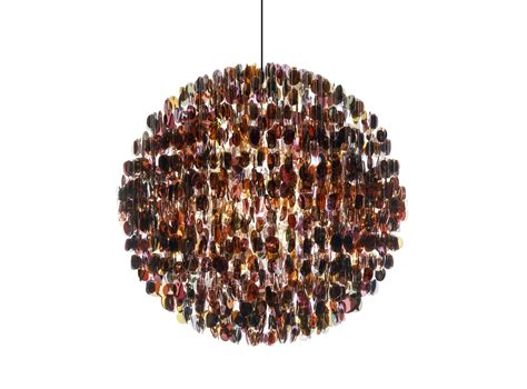 Stuart Haygarth S Opulent Chandeliers Are Made Entirely Chandeliers Made From Recycled Materials