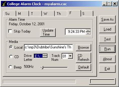 alarm clock software