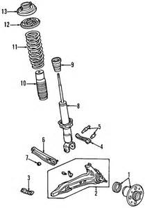 Honda Civic Brake System Diagram 1997 Honda Civic Parts Honda Parts Oem Honda Parts