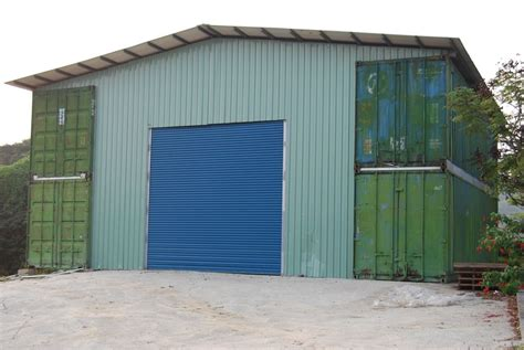 Container Garage by Shipping Container Garage Plans The Better Garages