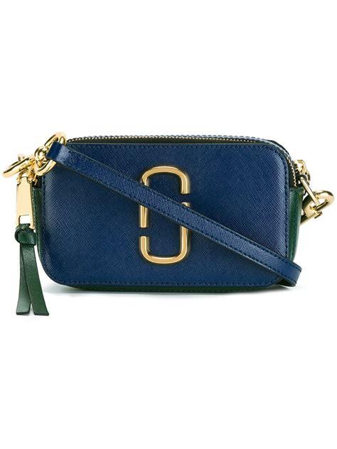 Marc By Marc Snapshot 1812 Bag marc snapshot crossbody bag in blue lyst