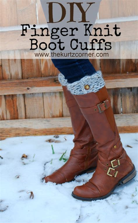 how to knit boot cuffs 38 easy knitting ideas page 4 of 4 diy