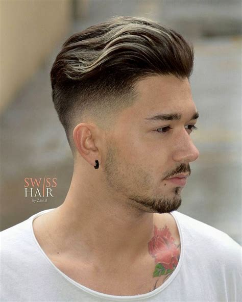 trimming hair styles and silky hair in mens top cortes de cabelo masculino medio liso ideias cortes