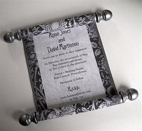 scroll wedding invitations in new york 20 best renaissance wedding images on renaissance wedding invitation