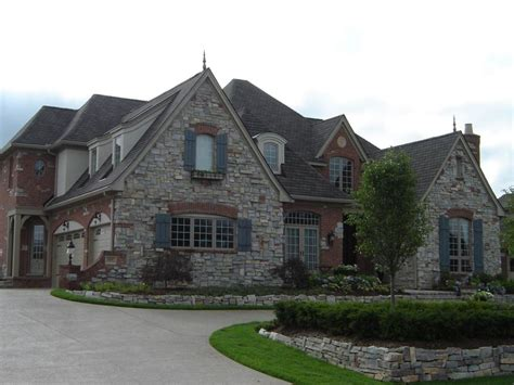 french tudor homes old world country french style home front