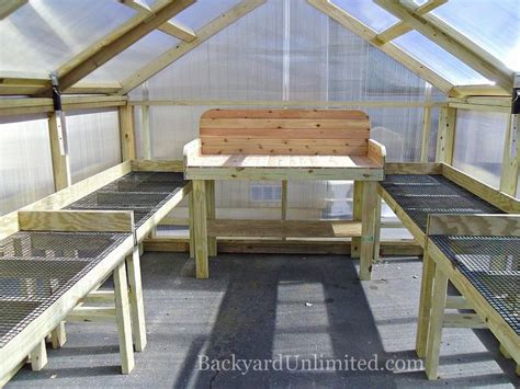 greenhouse bench design greenhouse bench woodworking projects plans