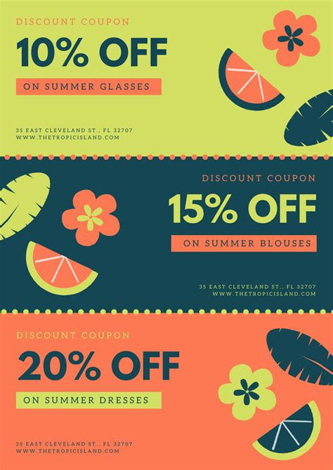 canva discount code free online coupon maker design a custom coupon in canva