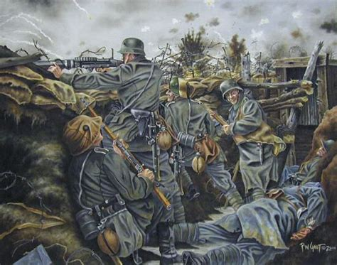 the great war tmp gaut paints the great war